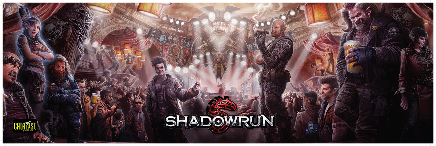 Shadowrun RPG: 5th Edition GM Screen